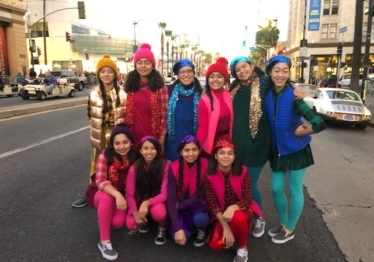 Hollywood Christmas Parade!