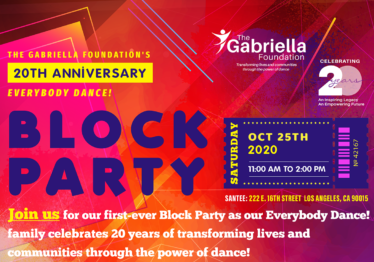 20th Anniversary Block Party!